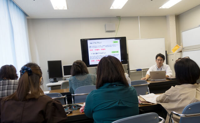 肝臓病教室 第1回「検査値の見方」勉強の会の模様